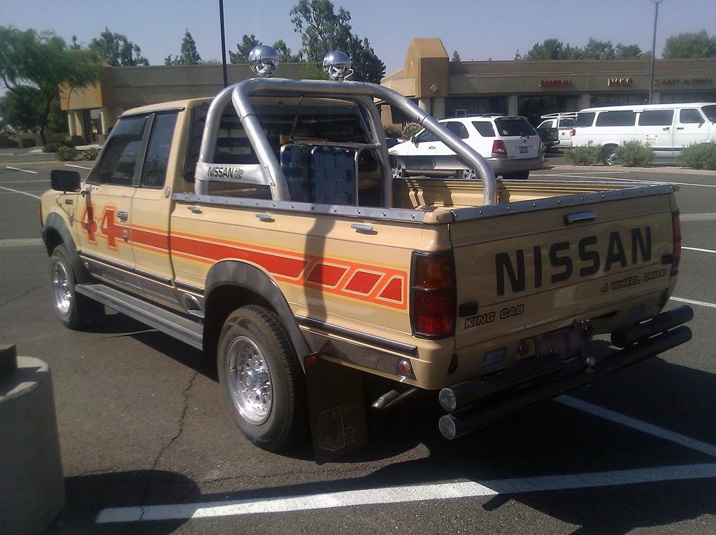 Nissan 720 Truck Rear