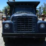Front of dump truck
