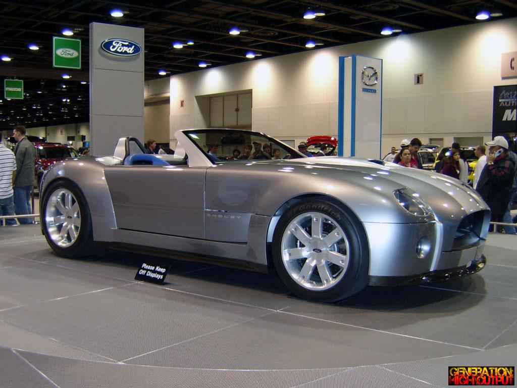 2004 Ford Shelby Cobra Roadster Concept Car Genho