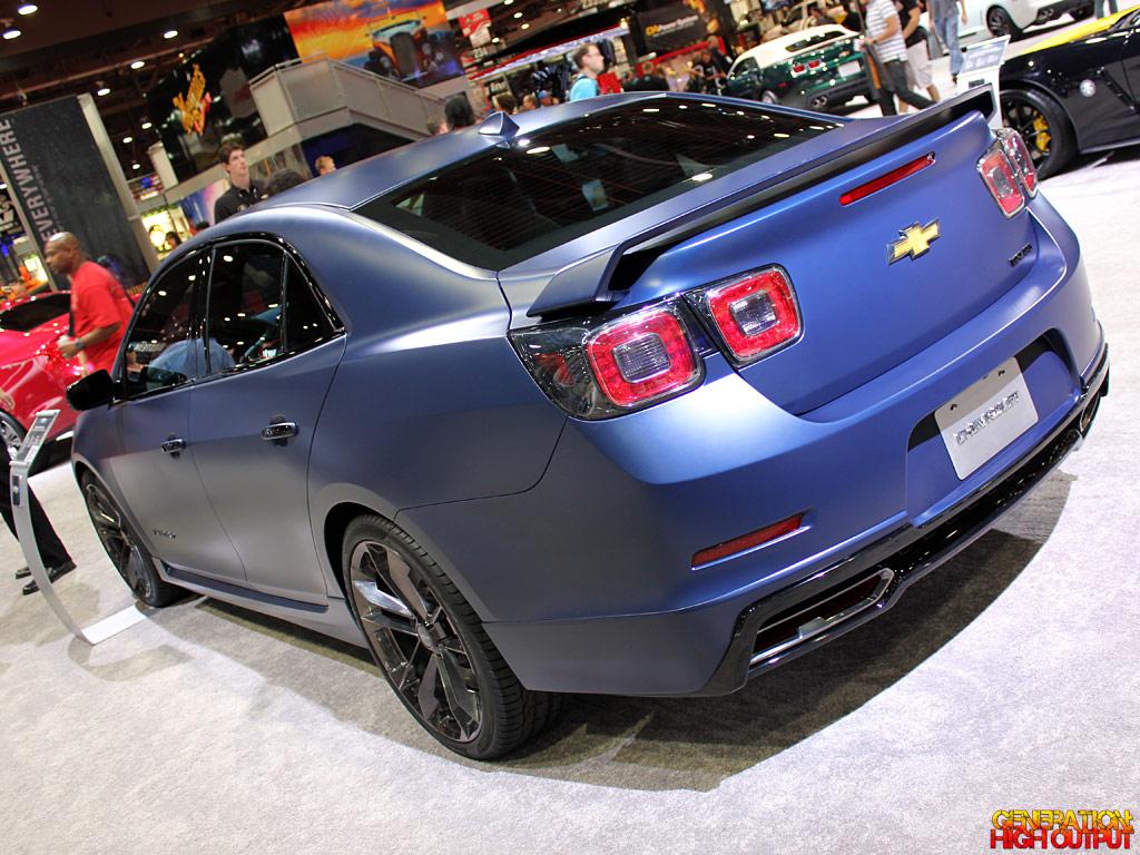 2017 Chevrolet Malibu Performance Concept