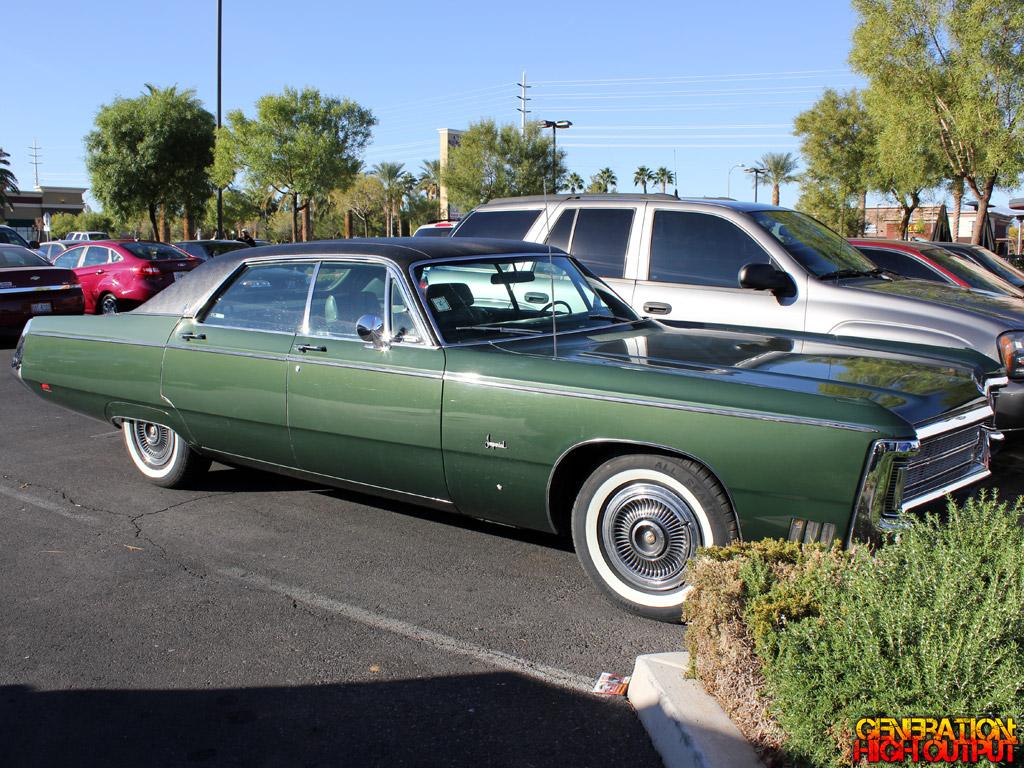 Driven 1969 Chrysler Imperial Sedan Genho