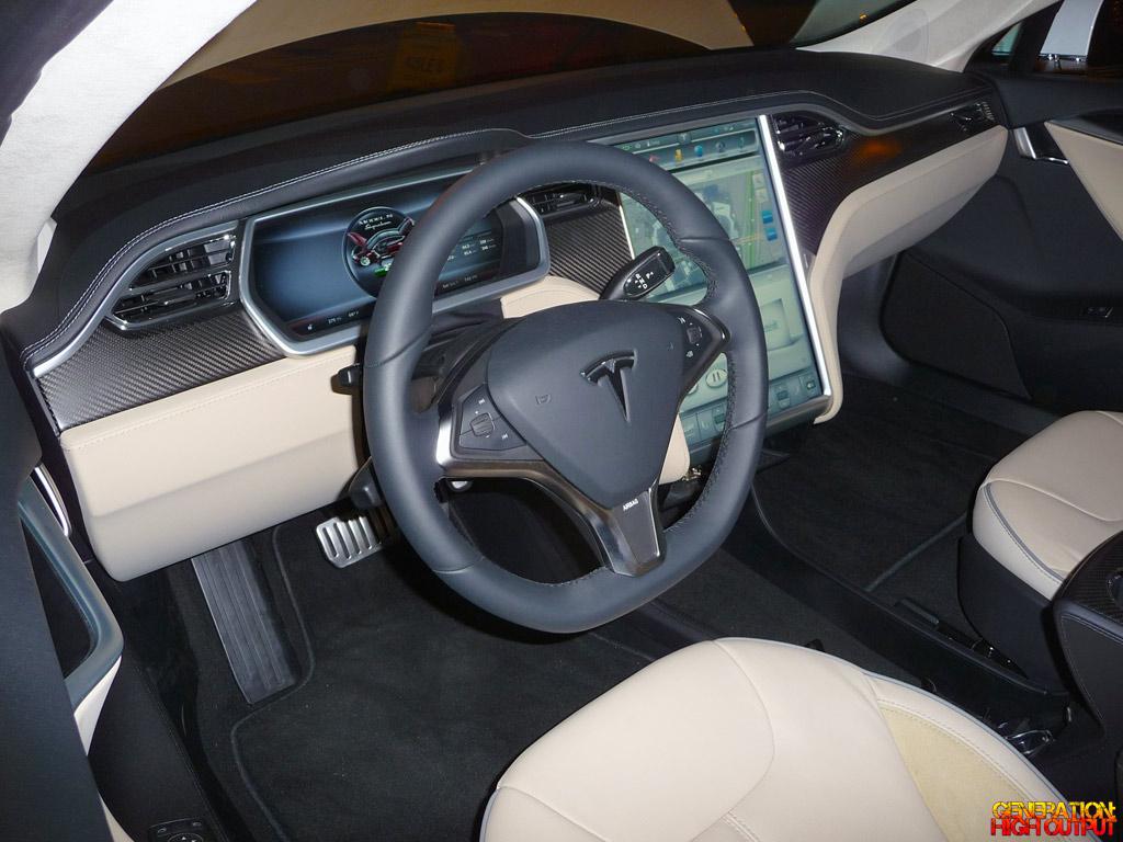 Spotted 2012 Tesla Model S Genho