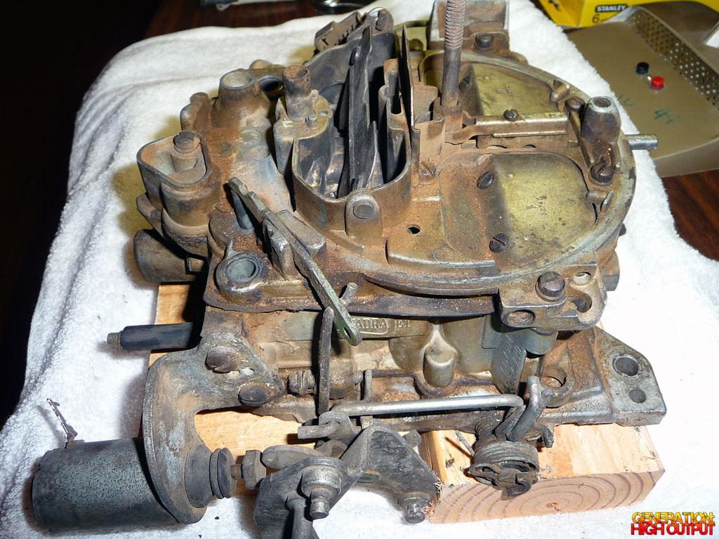 Rebuilding A Rochester Quadrajet Carburetor