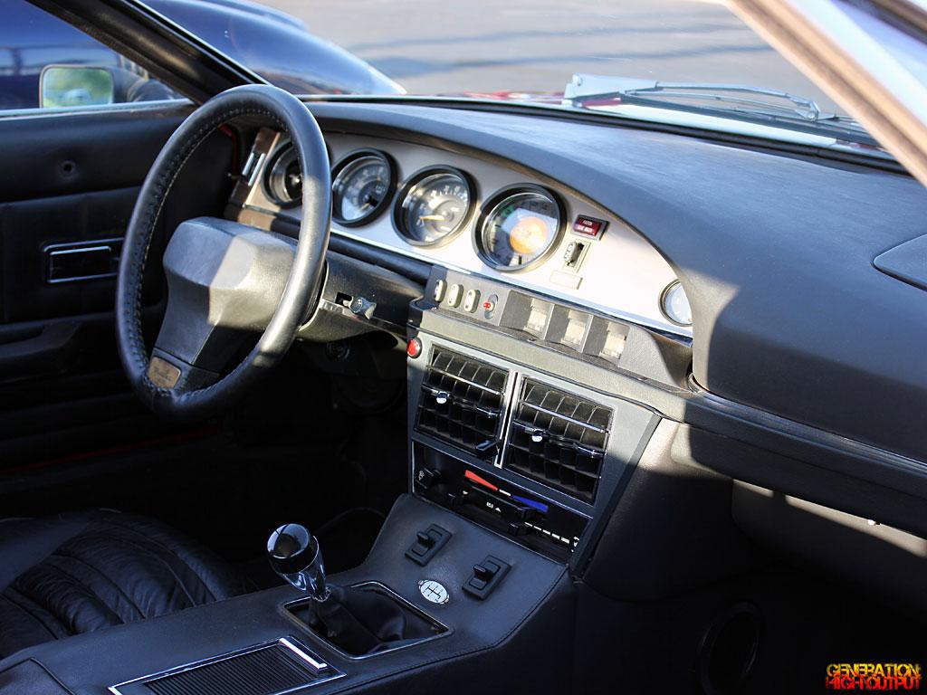 Car Picker Maserati Merak Interior Images