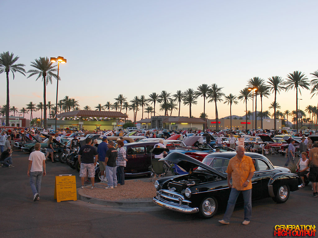 Car Show Calendar FallWinter GenHO - Scottsdale car show today