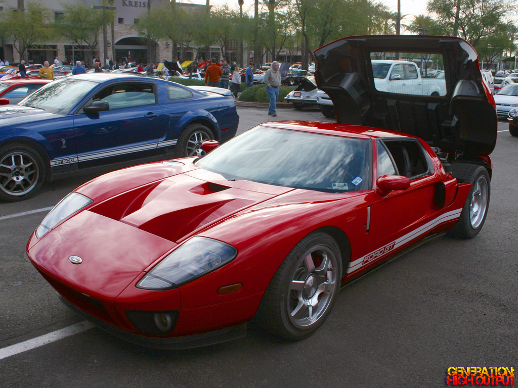 2005 Ford Shelby Gr 1 Concept Car Genho 1960s Sports Cars Called The Gt