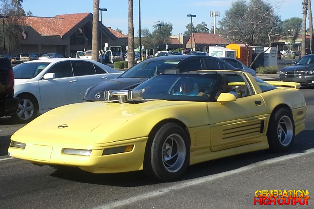 1986 Ferrari Testarossa Spider Corvette Body Kit Genho