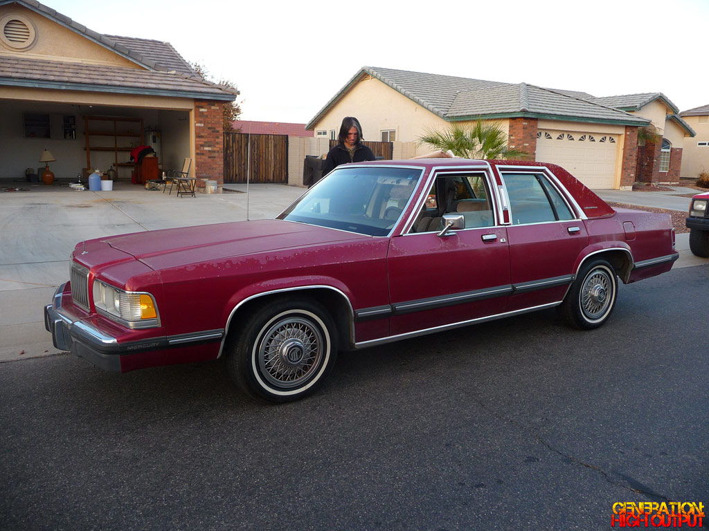1991 Mercury Grand Marquis GS  Generation High Output