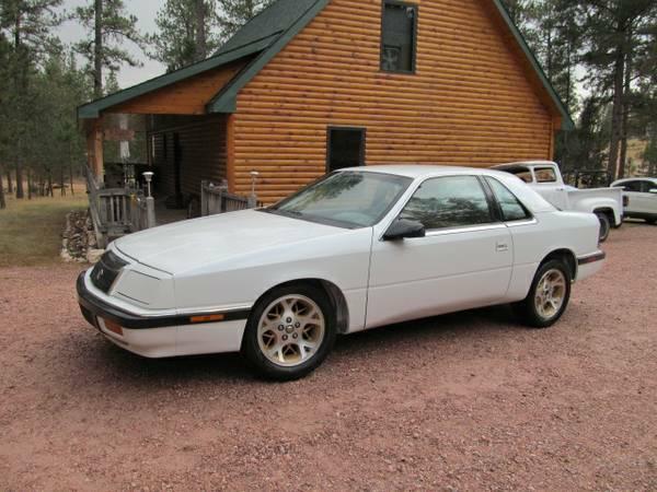 V8 RWD 1991 Chrysler Lebaron Coupe Project (Craigslist ...