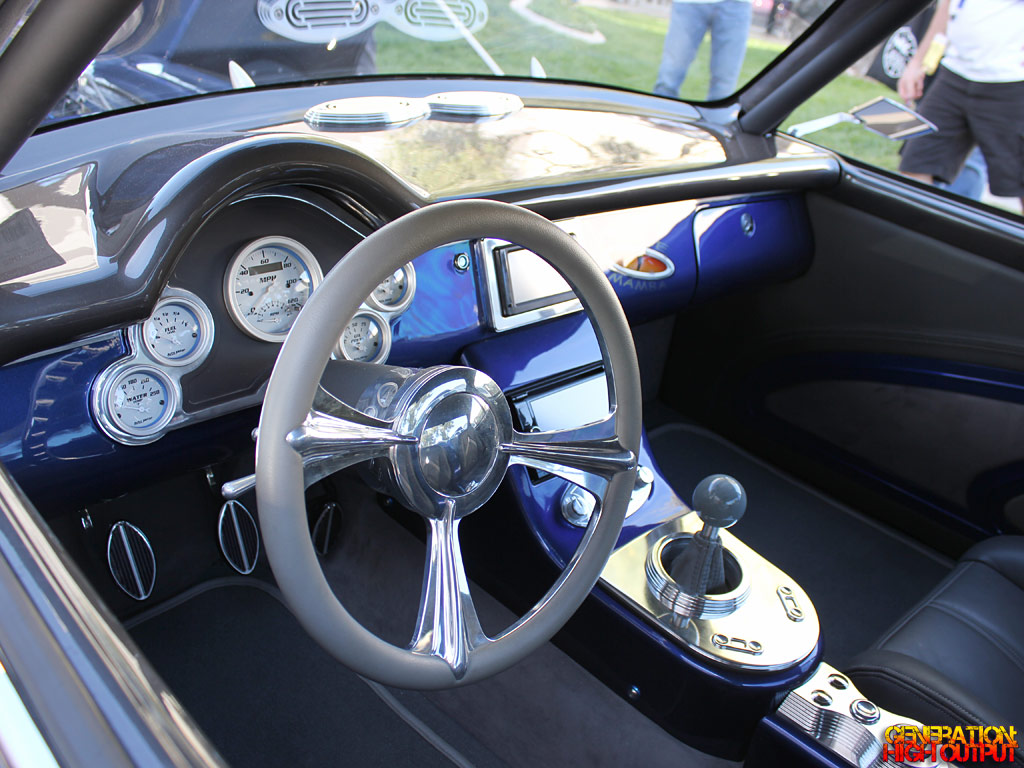 1967 vw karmann ghia v10 blue mamba 39 genho. Black Bedroom Furniture Sets. Home Design Ideas