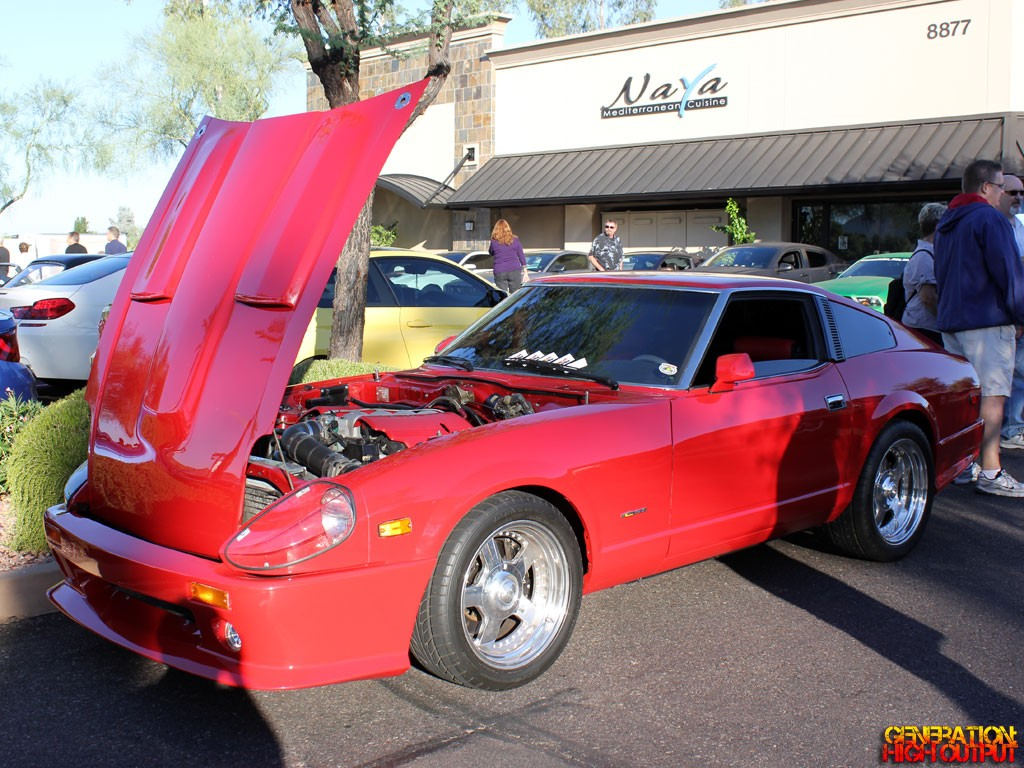 Datsun 280zx With Chevy Ls1 V8 Swap Generation High Output