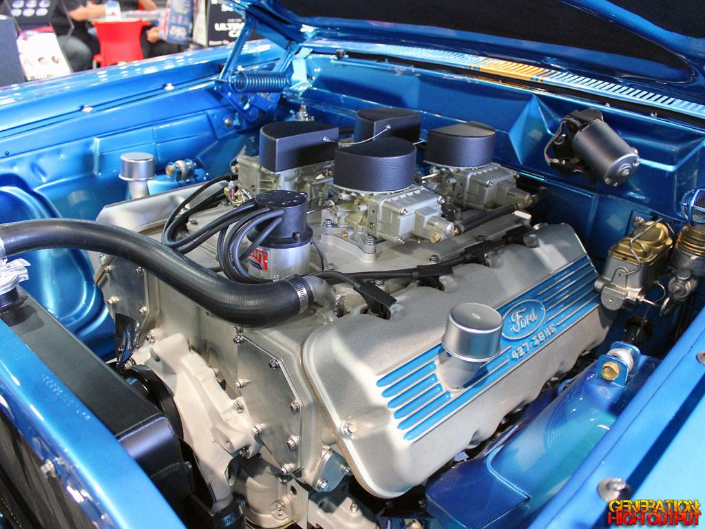 Fairlane Steve Strope Engine on Ford 427 Sohc Cammer Engine