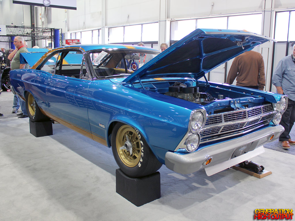 Some Of The Unique Features Car Are 427 Cubic Inch SOHC Cammer Motor By Ed Pink Paired With A Set Four 2 Barrel Holley Carbs Using Le