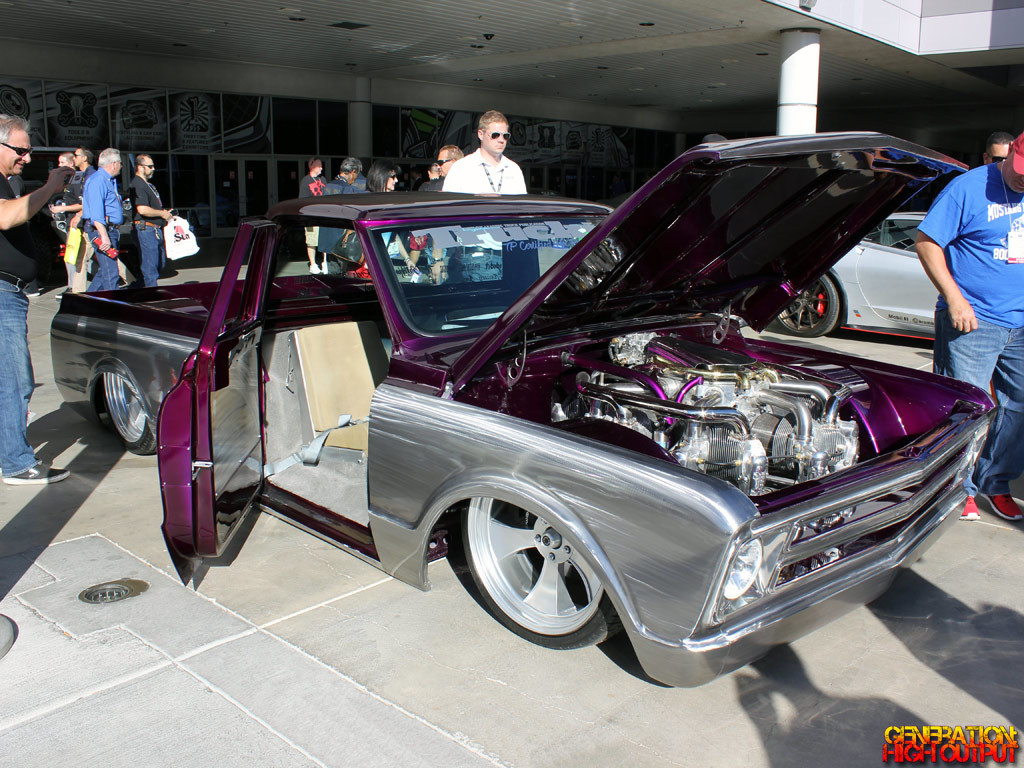 Radial Engine Pickup Sema Front X