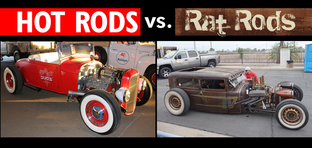 Hot Rods vs. Rat Rods: What\'s the Difference? | GenHO