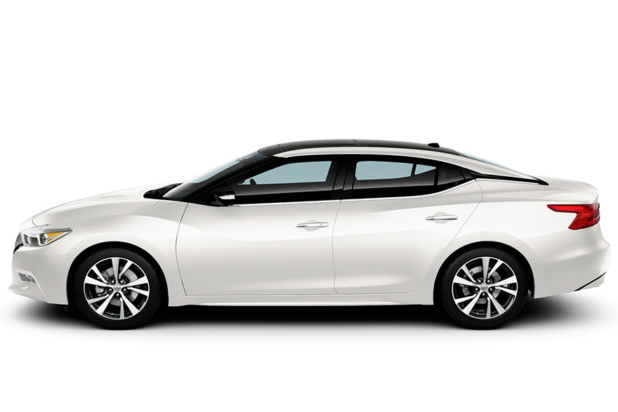 2016-nissan-maxima-white-side