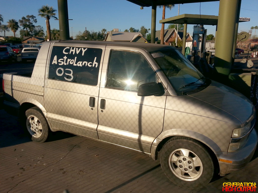 All Chevy 2003 chevy astro : 2003 Chevrolet AstroLanche Custom Van | GenHO