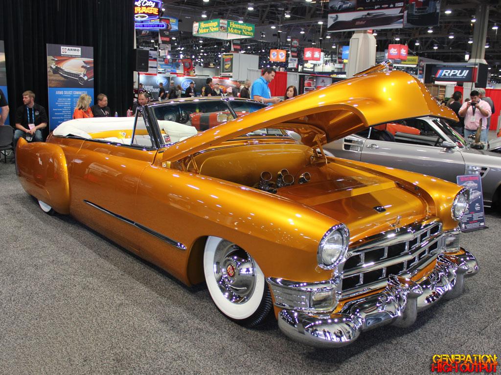Sema 2015 1949 Cadillac Convertible By Ryan S Rod And