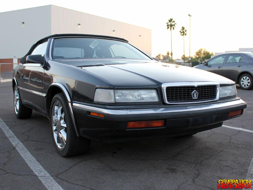 1989 1991 Chrysler Tc By Maserati Generation High Output